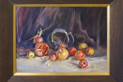 Still-life with pomegranates -