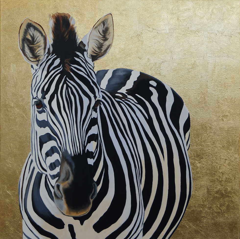Kate Jenvey-gold'n'zebra-