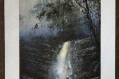 Woolshed Falls - Beechworth (mixed media 70 x 50cm)