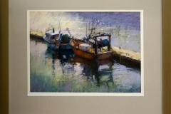 Jennifer Paull - Fishing boats -Brittany -