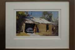 Old car shed - Rushworth -