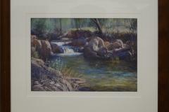 Stephen McCall - Afternoon light Morses Creek -