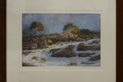 Stephen McCall - Winter afternoon Mt Buffalo -