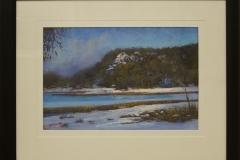 Stephen McCall - Winter morning Lake Catani -