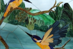 Susie Ross - Azure Kingfishers -