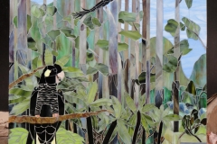 Susie Ross - Yellow-tailed Black Cockatoos -